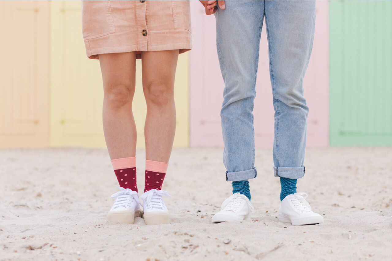 Healthy Seas Socks summer collection 2019: In Contrast