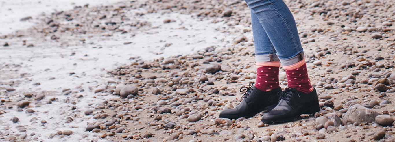 Biologisch katoenen sokken van Healthy Seas Socks