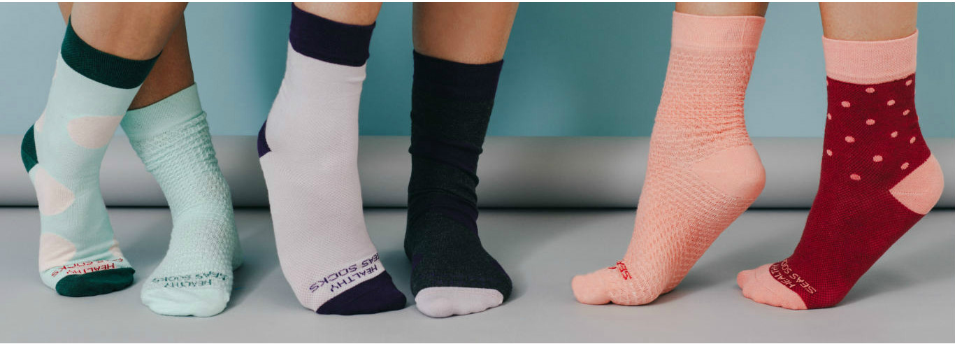 Healthy Seas socks prove that 100% ecological socks can be super comfortable.