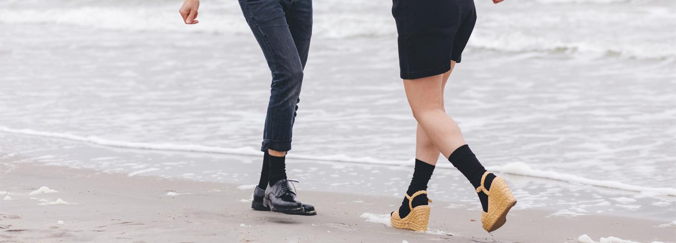 Biological cotton socks from Healthy Seas Socks